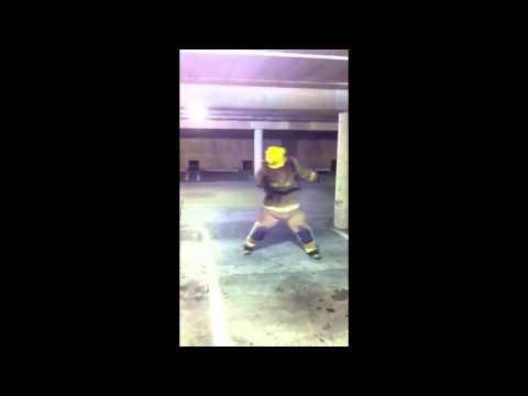 Crazy Firefighter Dance