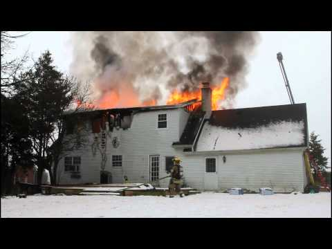 Lower Nazareth Dwelling Fire 1-23-12