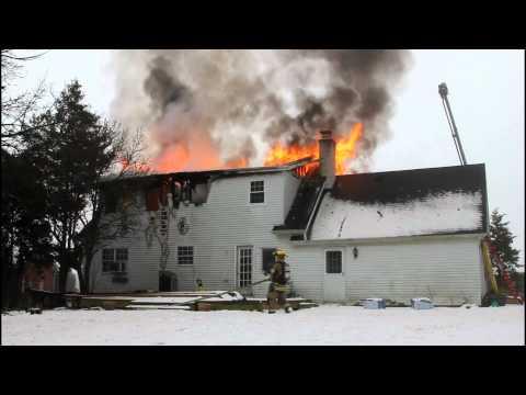 Lower Nazareth Dwelling Fire 1-23-12