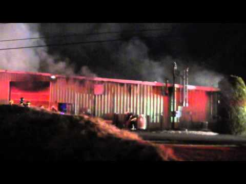 WEST ROCKHILL TOWNSHIP 2ND ALARM BUILDING FIRE 2-15-12