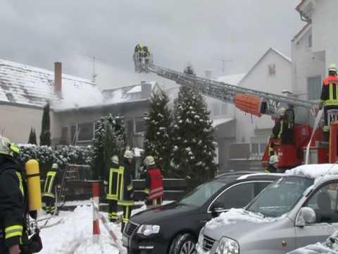 30.01.2010 - Mörlenbach - house fire