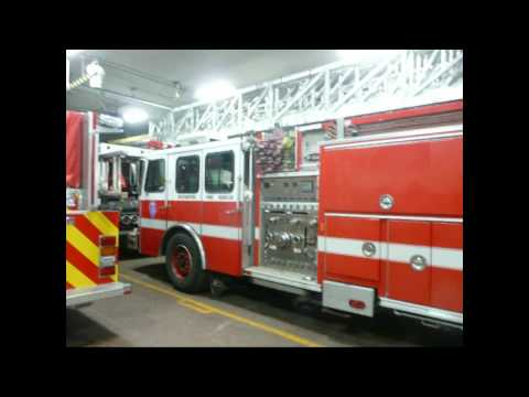 A Visit to the Rochester Fire Dept