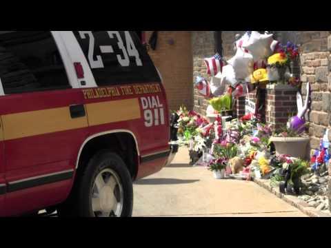 PHILADELPHIA FIRE DEPARTMENT LADDER 10 MEMORIAL 4-10-12