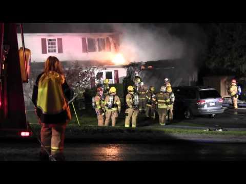 LOWER MILFORD 2ND ALARM DWELLING FIRE 4-11-12