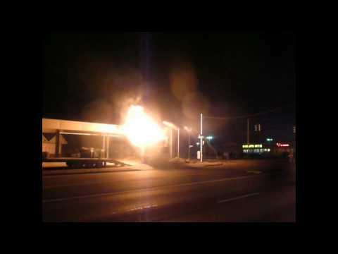 Snyder FD Garbage Truck Fire - Union & Wehrle