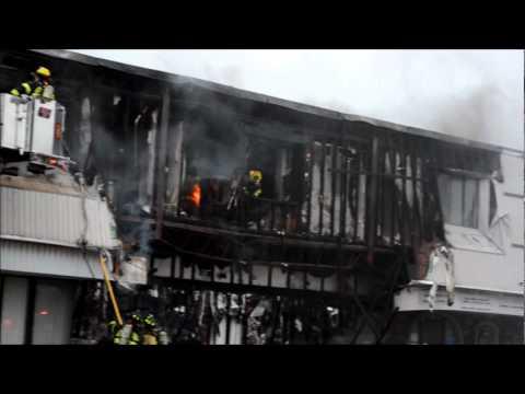 Seneca Hose FD Commerical Structure Fire - 290 Center rd