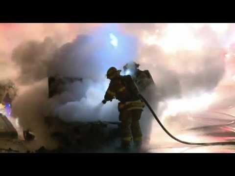 04.05.12 - CAR FIRE; Whitehall, Pa