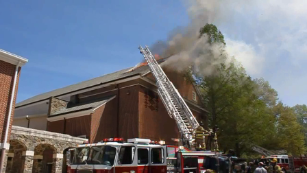 3-Alarm Fire, near Wilmington, DE