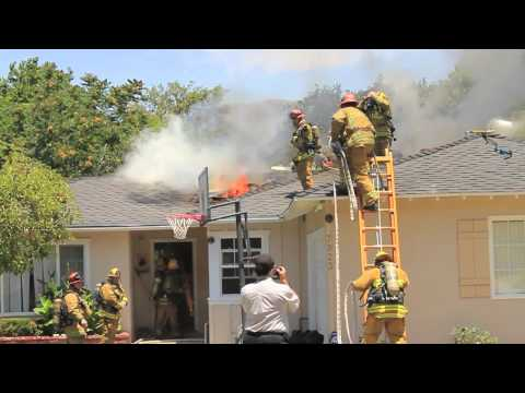 California House Fire First-Due Action