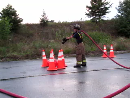 HOSE HANDLING TRAINING AND PHYSICAL FITNESS