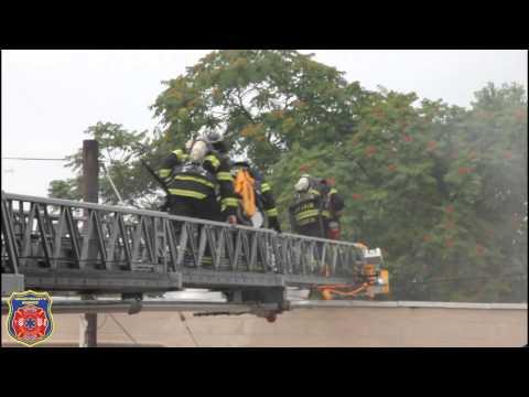 PENNSAUKEN ALL HANDS BUILDING FIRE 7-14-12