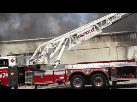 South Carolina Commercial Building Fire