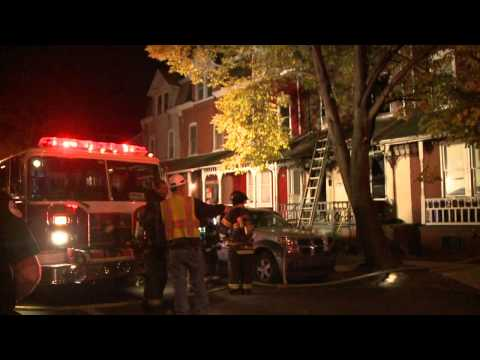 HOUSE FIRE w/Entrapment; Allentown, PA.