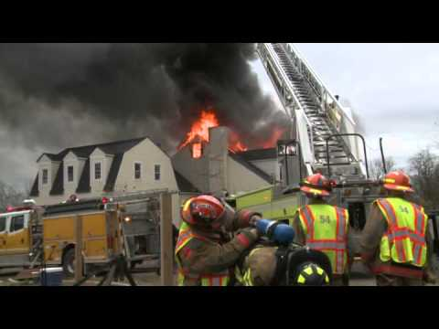 WORKING DWELLING FIRE; MooreTwp., PA