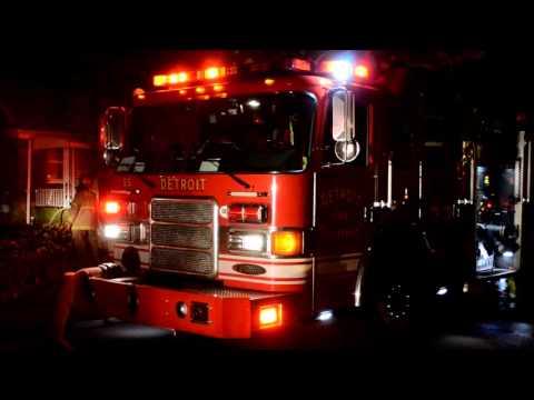 Detroit FD Structure Fire - 6870 Woodmont ave