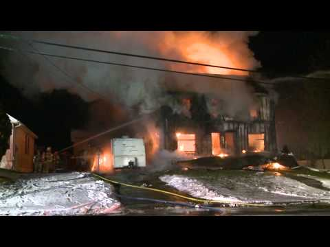 Fully Involved Dwellings in Emmaus, PA