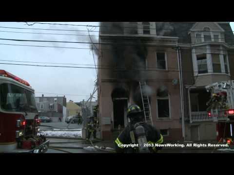 Allentown, PA Apartment Building Fire