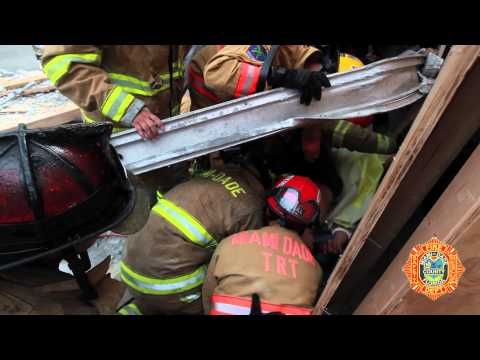 MDFR Garage Collapse Rescue