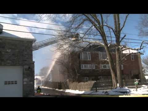 2ND ALARM APARTMENT FIRE; Bethlehem, PA.