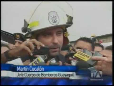 Incendio en Guayaquil dejó millonarias pérdidas