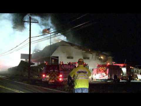 Northampton County, PA business damaged in 2-alarm fire