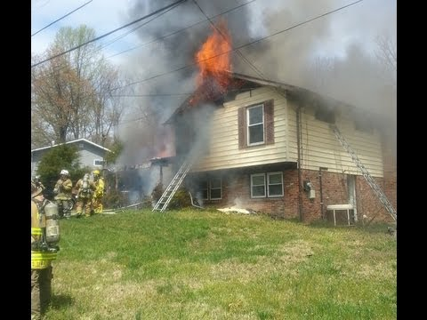 Size-up and Work at Maryland House Fire