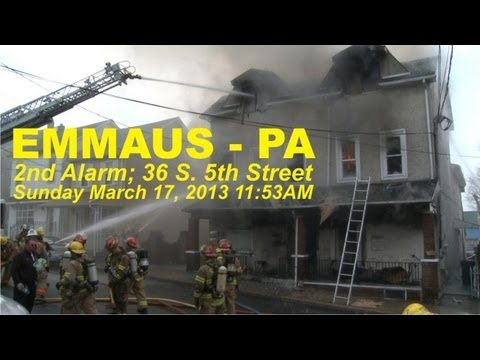 4 dead in Emmaus, PA apartment building fire