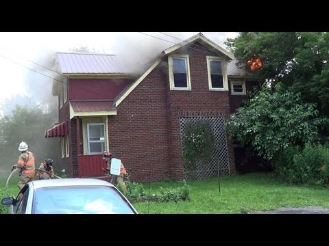 East Syracuse Working Structure Fire 7/6/13