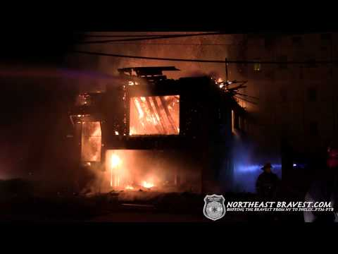 NEWARK,NJ 2ND ALARM VACANT HOUSE FIRE 6-12-13