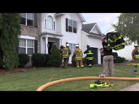 BETHLEHEM TOWNSHIP, PA BASEMENT FIRE 9-30-13