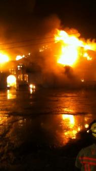 Conneaut Lake Beach Club Fire
