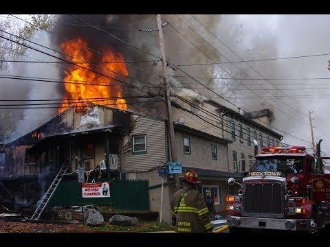 Historic Hotel Burns in Pennsylvania, Injures 4