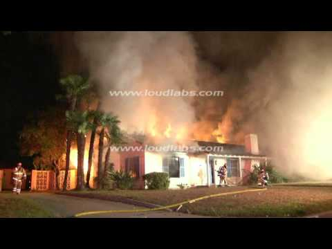 Suspicious House Fire / Downey, California