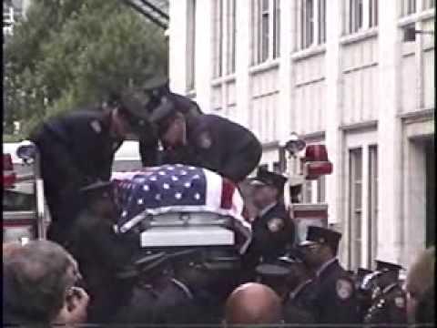 Buffalo firefighter Jonathan Croom Funeral Procession