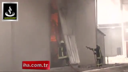 Kayseri'de Ağlatan Yangın