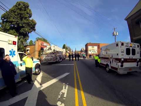 Youngsville Fire Department Funeral - Asst. Chief Jeff Fields