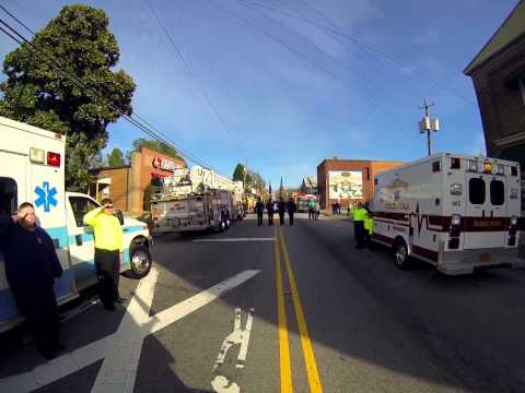 Youngsville Fire Department Funeral - Asst. Chief Jeff Fields