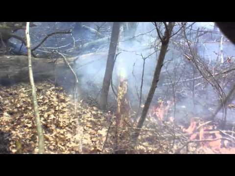 West Corners Fire - Brush Fire Helmet Cam