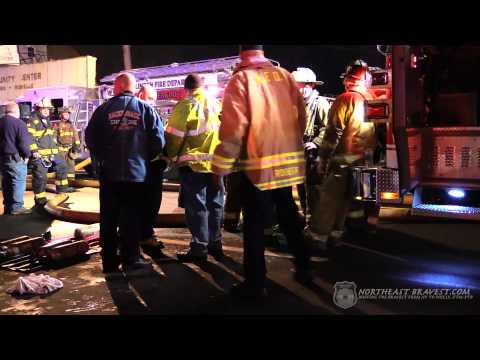 LINDEN, NJ 3RD ALARM FIRE