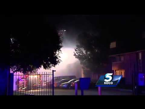 Oklahoma City Firefighters Rescue Man in Apartment Fire