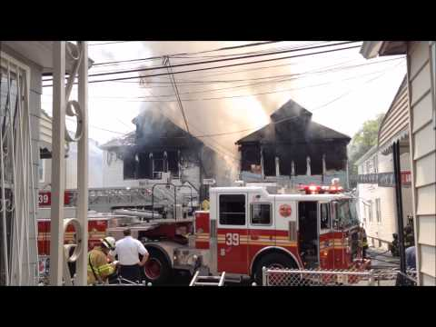 Bronx Four-Alarm Fire, Hill Avenue