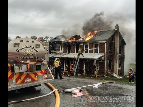 PLAINFIELD TOWNSHIP, PA HOUSE FIRE