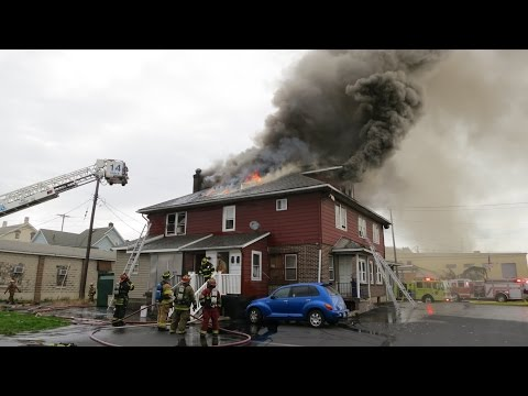 NAZARETH, PA 2ND ALARM WORKING FIRE
