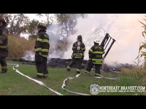 LOWER NAZARETH, PA MOBILE HOME FIRE