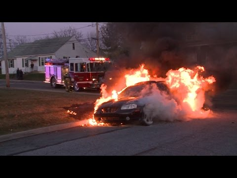 Fully Involved Car Fire, Whitehall, PA   11.20.14