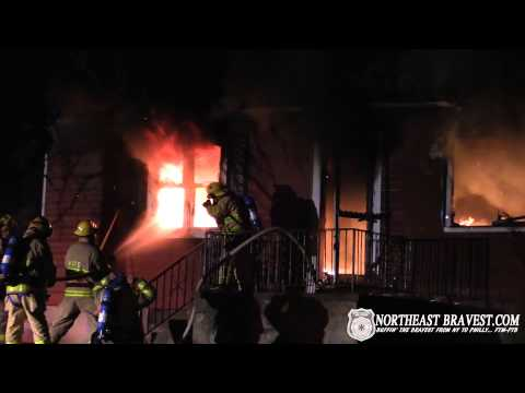 WILLIAMS TOWNSHIP, PA WORKING HOUSE FIRE