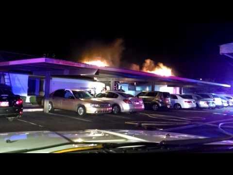 Condo Fire with Rescue