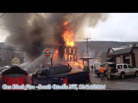Cox Block fire 12/14/2014