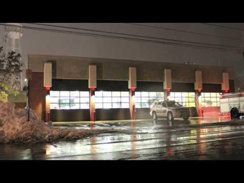 Buffalo Winter Storm Deployment - West Corners Fire