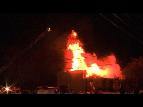 3rd Alarm Structural Fire, Public Road, Salisbury, PA   02.12.15